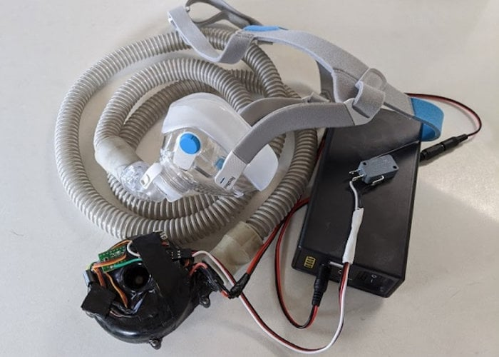 DIY Arduino open source ventilator