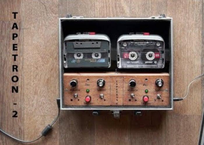 DIY Dual-Cassette DJ Rig