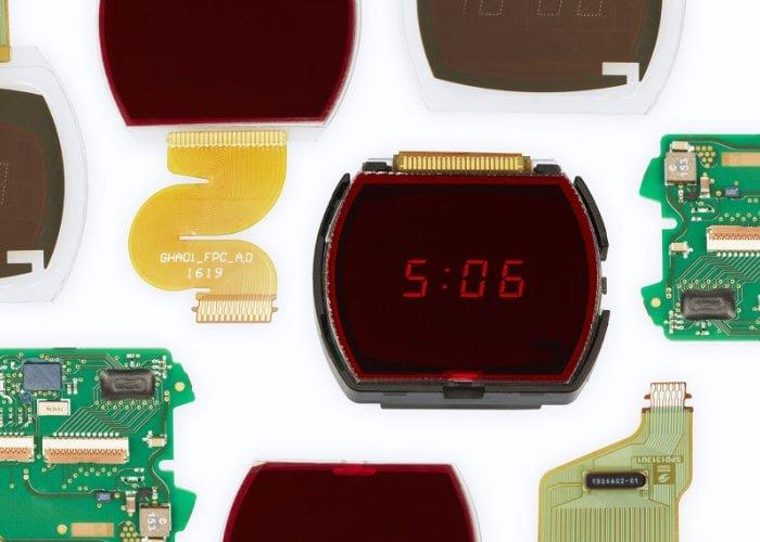 Hamilton digital watch