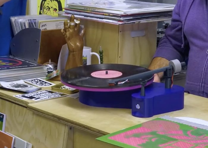 Project Orbit 3D printed record player