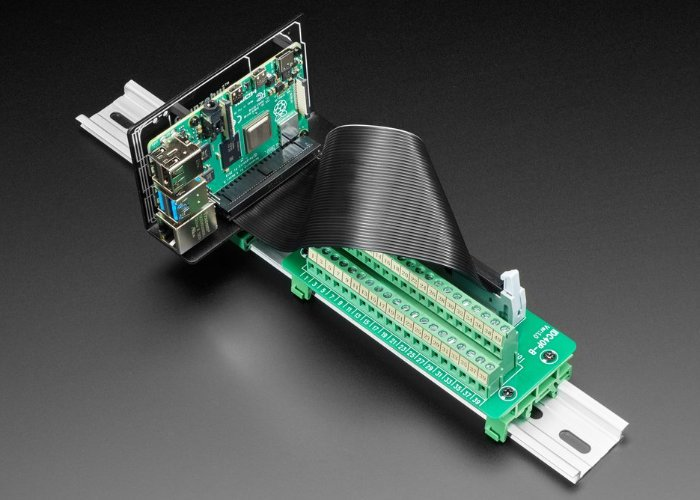 Raspberry Pi Din Rail