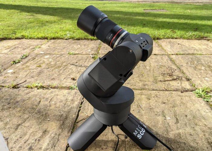 Raspberry Pi mini GOTO Telescope
